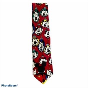 Mickey Unlimited Disney Christmas Ornament Tie